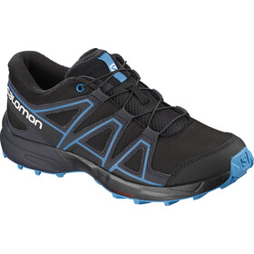 Salomon Speedcross Shoes Kinder black/graphite/hawaiian surf